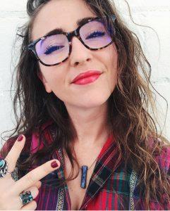 Phonetic Eyewear makes blue light blocking glasses.